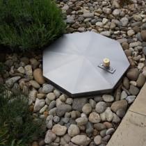Tapa de inspección para pavimento impermeable redonda - Sistema SA2