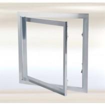 Tapa de inspección de aluminio con compuerta fija - Sistema F1 (Solo marco)