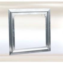 Sistema F2 - Trampilla de aluminio con compuerta extraible (Solo marco)