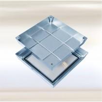 Sistema PRO+MAXI Antincendio - Tapa de inspección para pisos - Acero inoxidable EI120
