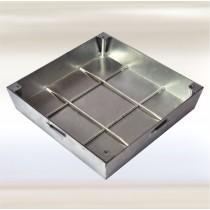 Sistema PRO+MAXI  - Tapa de inspección para pisos - Acero inoxidable