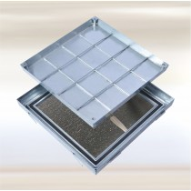 Sistema PRO+ MAXI Térmico - Tapa de inspección para pisos  Acero inoxidable