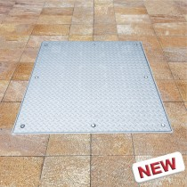Sistema PRO+TR  - Tapa de inspección para pisos - Acero galvanizado