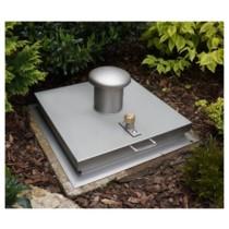 Sistema SA1 - Tapa de inspección para pavimento impermeable cuadrada